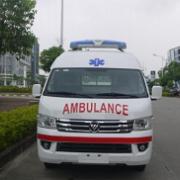 福田蒙派克 S 监护型救护车
