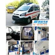 福特新全顺V362系列汽油柴油监护型救护车,隆重上市。