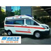 福特全顺V362中顶监护型救护车