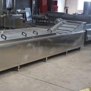 直销全自动式猪蹄漂烫流水线,高温杀菌,304不锈钢制造