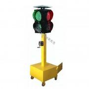 沈阳多功能移动信号灯 太阳能移动红绿灯价格含倒计时
