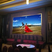 深圳厂家直销p4室内全彩led显示屏 婚庆舞台活动大屏幕