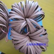 耐磨损四氟铜粉导向密封 油缸气缸支撑环 四氟+铜粉导向环