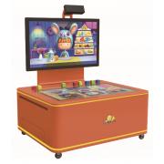 """幼儿园儿童中心亲子餐厅智能互动游戏""""魔幻益智桌面"""""""