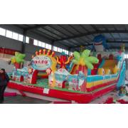 郑州儿童游乐设备厂家供应充气城堡 充气小帐篷 儿童淘气堡