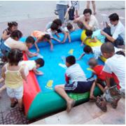 充气水池,摸鱼池,沙滩池,儿童游乐设备厂家直销