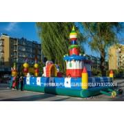 中山充气大型玩具租赁新款充气淘气堡海盗船气垫足球场