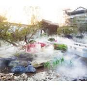 环保人造雾设备-景观园林造雾-建筑工地喷雾降尘设备