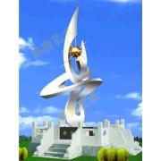 不锈钢雕塑@抚州不锈钢景观艺术造型雕塑生产厂家