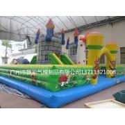 五一充气城堡出租广州充气大型滑梯足球飞镖大型攀岩