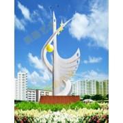 不锈钢雕塑@威海艺术不锈钢雕塑造型生产厂家
