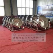厂家生产电加热夹层锅 不锈钢夹层锅 燃气夹层锅 肉制品蒸煮锅