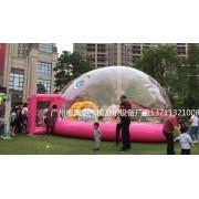 佛山粉色鲸鱼水晶宫海洋球池租赁充气儿童乐园大型水池