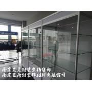 邮储银行展示柜、南京银行展示柜、建设银行展示柜