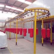 消防箱 消防器材 消防栓 灭火器静电喷塑喷粉生产线 涂装线