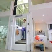 小型两层三层家用复式阁楼地下室液压电梯别墅式曳引室内外安装