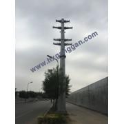顺通供应输电钢杆,电力杆,转角杆,电力终端杆,量大优惠