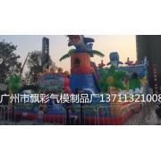 广州充气新款蹦蹦床充气网红跳床充气趣味运动气模足球场