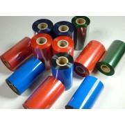 福州供应彩色蜡基碳带 彩色碳带定制  红色蜡基碳带