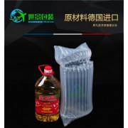5L金龙鱼食用油气柱袋气泡柱缓冲袋充气袋