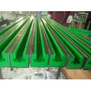 厂家直销链条导轨 超高分子量聚乙烯导轨 高耐磨链条滑动导轨