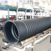 双壁波纹管厂家供应 hdpe塑料排水管材