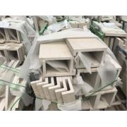 直销城堡米黄石材大板荒料北方储备量大大企业品质保证