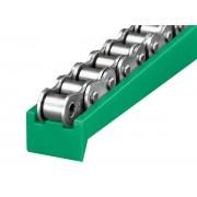 聚乙烯t型链条导轨、高耐磨滑动塑料导轨、尼龙导轨