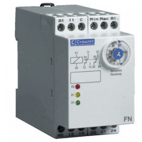 CROUZET水平控制继电器,2NO/NF,DIN导轨