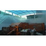 垃圾站喷雾除臭|广州垃圾处理厂喷雾除臭设备