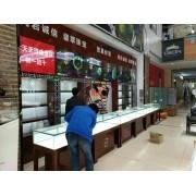 万宁展柜生产,海口玉器货柜定制,儋州珠宝展示柜订做