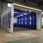 环保型移动伸缩喷漆房 10米以上价格