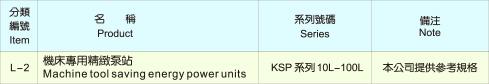 KOMPASS液压站机床专用精緻泵站L-2系列