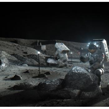 paceX,Blue Origin将开发月球着陆器