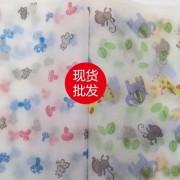 福建泉州供应儿童印花卡通无纺布 花样颜色可定制