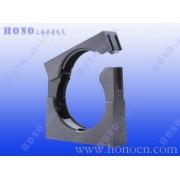 塑料波纹软管固定座 有盖尼龙软管管夹 塑料软管固定座