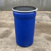 200升锥形桶吹塑200L开口塑料桶锥形200KG化工桶厂家