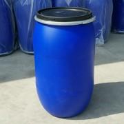 200L法兰桶200升塑料桶开口包箍桶200公斤广口塑料桶