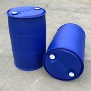 聚乙烯材质200L塑料桶双环200升塑料桶闭口化工桶新利制造