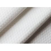 福建供应白色水刺布 交叉平纹全涤纶水刺布
