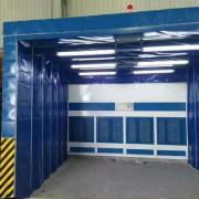 伸缩移动喷漆房 多种尺寸配置可选