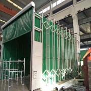喷烘一体伸缩房 天然气加热喷漆房功能价格