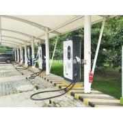 膜结构 膜结构公司 安装膜结构 充电车棚 电动车停车棚