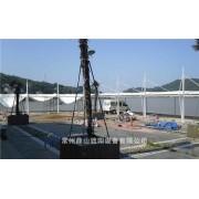 膜结构厂家供应膜结构雨棚,遮阳雨棚,钢结构雨棚 包设计安装
