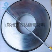 万方达供应750树脂金刚石砂轮磨碳化钨涂层砂轮