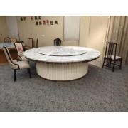 电动餐桌 传送带电动餐桌 椭圆形回转电动餐台 酒店椭圆桌